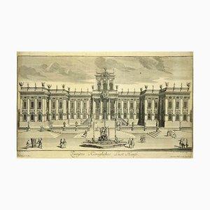Unbekannt, The Palace, Original Lithographie, spätes 19. Jh