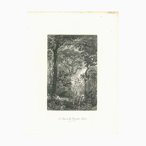 Unknown, In the Brazilian Forest, Original Lithograph, Early 19th-Century