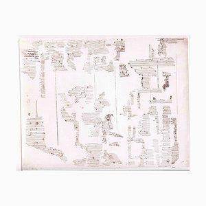 Sconosciuto, Composizione, Acquaforte originale e puntasecca, metà XX secolo