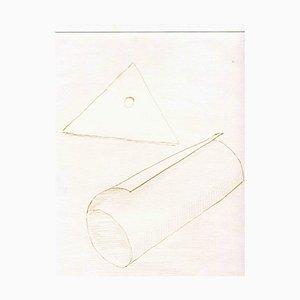 Unbekannt, Komposition, Original Radierung und Kaltnadel, Mitte 20. Jh
