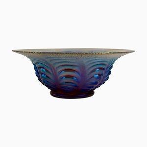 Art Deco Ikora Glass Bowl from WMF, 1925