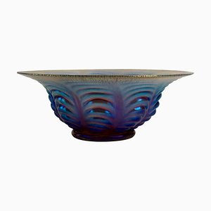 Art Deco Ikora Glasschale von WMF, 1925