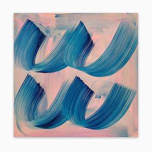 In der Luft, abstrakte Malerei, 2021
