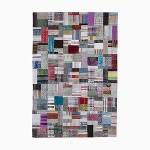 Tappeto Kilim patchwork multicolore