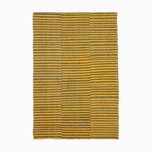 Yellow Vintage Kilim Rug