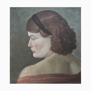 Guido Locca, Jeune femme à la larme, 1936