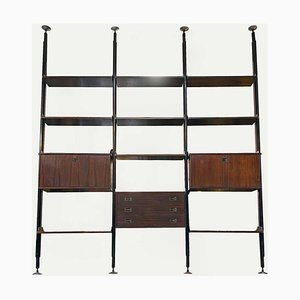 Italienisches Mid-Century Modern Bücherregal mit Drei Fächern von Stildomus, 1960er