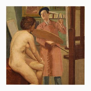 Especial Gemälde des Künstlerateliers, 20. Jh