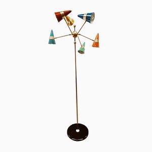 Verstellbare Cone Stehlampe von Stilnovo