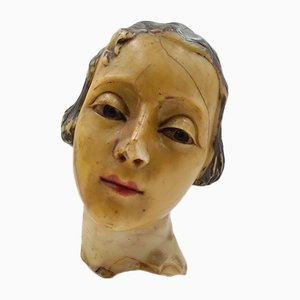 French Wax Mannequin, Paris, 1920s