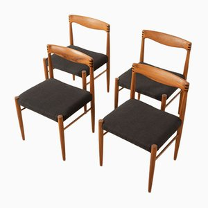 Esszimmerstühle von HW Klein für Bramin, 1960er, 4er Set