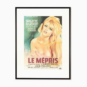 Affiche pour Mépris avec Brigitte Bardot
