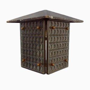 Dreieckige Outdoor Porch Lampe von Mac Hagerup für Kronobergs Belysning, Schweden, 1960er oder 1970er