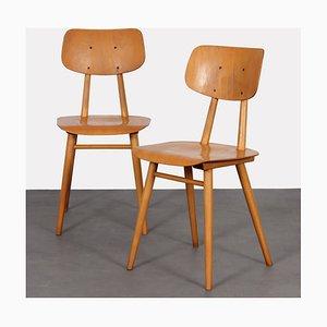 Osteuropäische Stühle von TON, 1960er, 2er Set