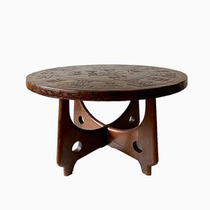 Sculptural Coffee Table by Angel Pamiño for Muebles de Estilo
