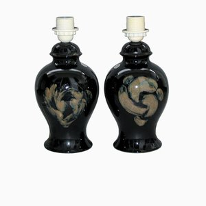 Ceramic Table Lamps by Kent Ericsson and Carl-Harry Stalhane for Designhuset, Set of 2