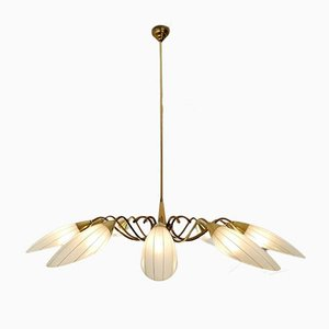 Mid-Century Chandelier with 10 Lights, Italy