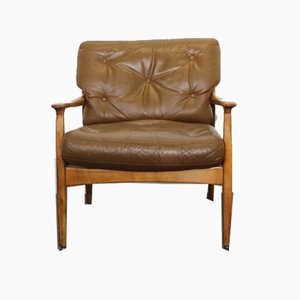 Leather Chair by Eugen Schmidt for Soloform