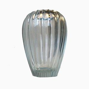Vase Triton en Cristal par Simon Gate pour Orrefors, 1920s
