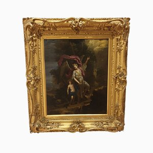 Onorio Marinari, Guardian Angel, 1600s, Oil on Canvas