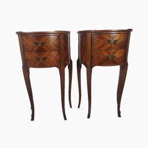 Tables de Chevet Style Louis, Set de 2
