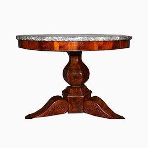 Restoration Pedestal Table in Mahogany