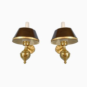 English Style Sconces by C-E Fors for EWÅ Värnamo, Sweden, Set of 2