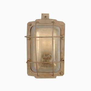 Industrielle Wandlampe, Osteuropa, 1960er