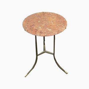 Bronze und Marmor Beistelltisch von Cedric Hartman, USA, 1970er