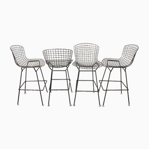 Bar Stools by Harry Bertoia for Knoll International, USA, 1960s, Set of 4