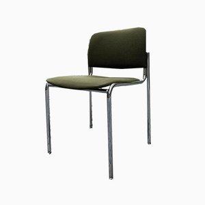Stapelbare Chrom Stühle, 1960er, 8er Set