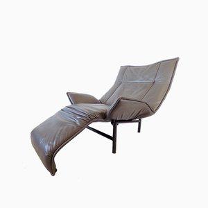 Veranda Leather Chair by Vico Magistretti for Cassina