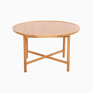 Model 100 Coffee Table in Cherry by Vagn Jacobsen for Søborg Møbelfabrik