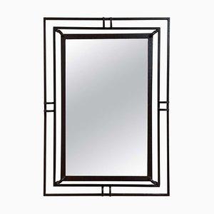 French Iron Mirror, 1940s