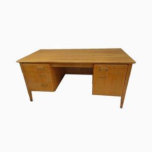 Blond Wood Desk, 1960s