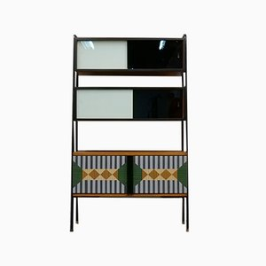 Bookcase with Chest of Drawers, 1950s