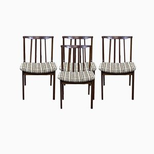 Chairs in Teak, 1970s, Set of 4
