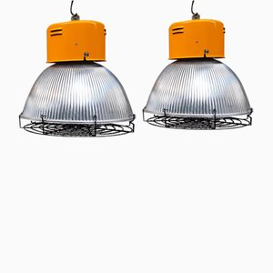 Industrial 1100 Lamps from Disano, Italy, 1980s, Set of 2