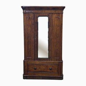 English Walnut Wardrobe, 1800s