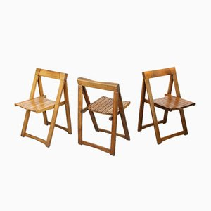 Vintage Trieste Folding Chair by Aldo Jacober for Bazzani