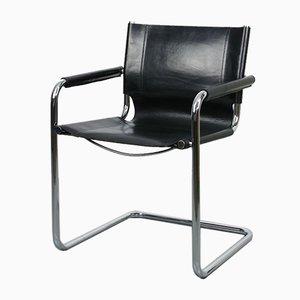 Vintage Leather Bauhaus Cantilever Chair