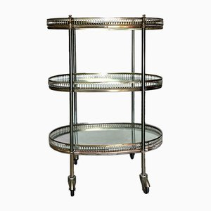 Vintage French Cocktail Trolley from Maison Baguès, 1940s