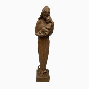 Gaelic Anu, escultura de madera
