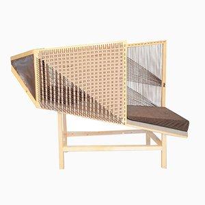 Chaise longue Trame di Thea design