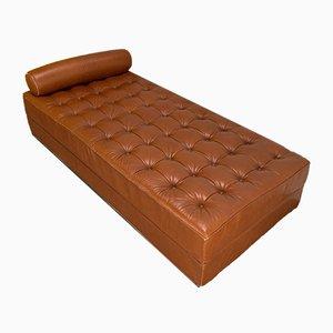 Sofá cama BR27 de cuero de Martin Visser para 't Spectrum, Netherlands, 1971