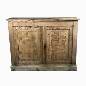 Buffet or Storage Unit in Raw Pitch Pine, 1800s