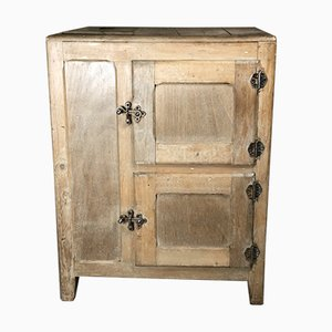 Antique Buffet or Cooler in Pitch Pine and Raw Pine, Tantonville, 1900s