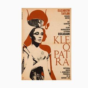 Vintage Cleopatra Film Poster, 1968