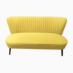 Mid-Century Scandinavian Modern Velvet Sofa, 1950s