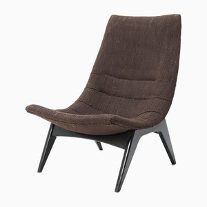 Mid-Century Modern 755 Fatölj Lounge Chair by Svante Skogh for Olof Perssons